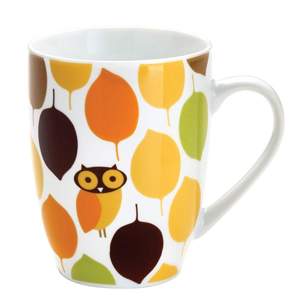 Rachael Ray Little Hoot 4-Piece Mug Set