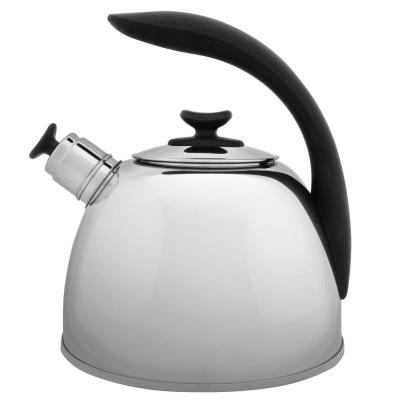Essentials 10-Cup Stainless Steel Whistle Kettle