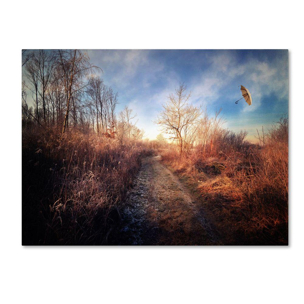 Trademark Fine Art 14 in. x 19 in. Blast of Wind Canvas Art