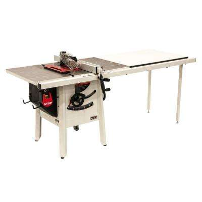 ProShop II 10 in. table saw with 52 in. Rip Stamped Steel JPS-10
