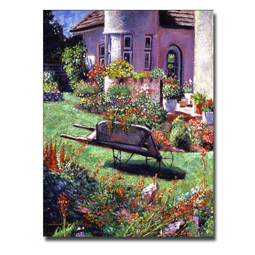 26 in. x 32 in. Color Garden Impression Canvas Art