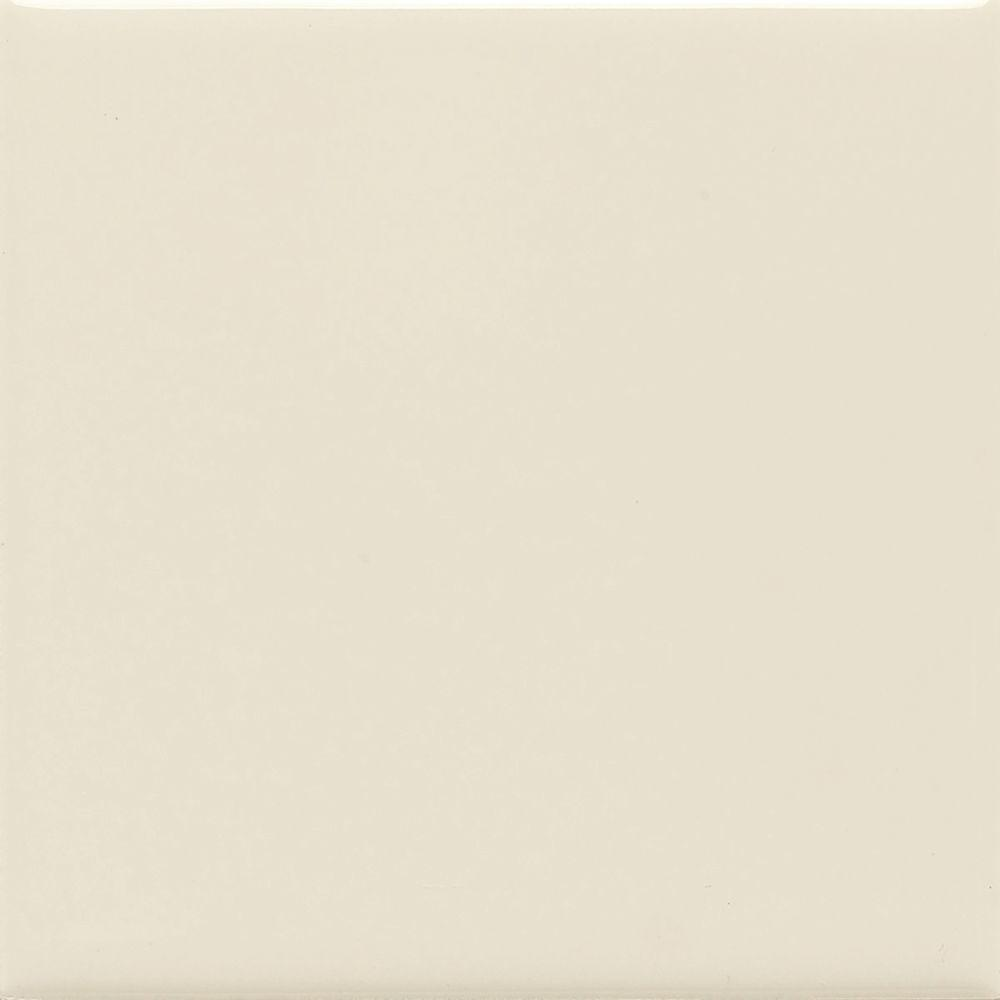 Daltile semi gloss almond 4 14 in x 4 14 in ceramic bullnose daltile semi gloss almond 4 14 in x 4 14 in ceramic bullnose wall tile 0135s44491p1 the home depot dailygadgetfo Gallery