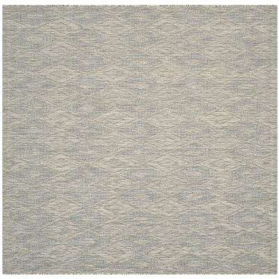 Gray - Square - Solid/Gradient - Outdoor Rugs - Rugs - The Home Depot