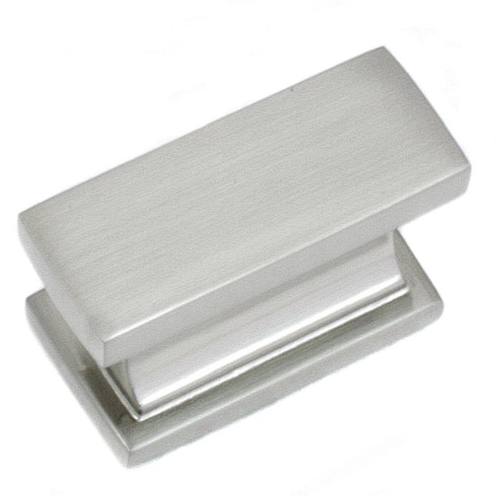 MNG Hardware Park Avenue 2 in. Satin Nickel Cabinet Knob America's finest quality cabinet hardware. Installs easily with included hardware. Perfect accent to any cabinet or furniture in your modern home! Available in other finishes.