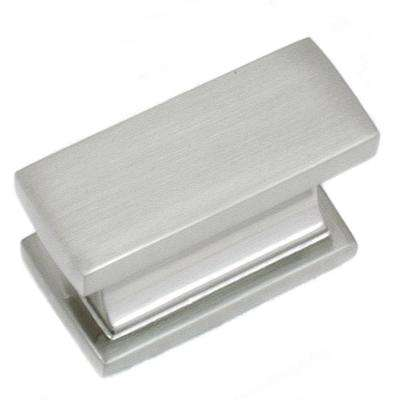 Park Avenue 2 in. Satin Nickel Cabinet Knob