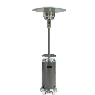 48,000 BTU Hammered Bronze Gas Patio Heater