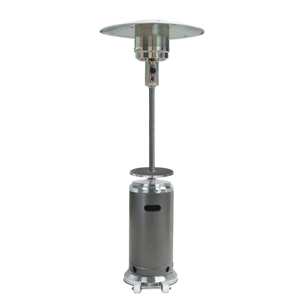 48,000 BTU Hammered Bronze Gas Patio Heater