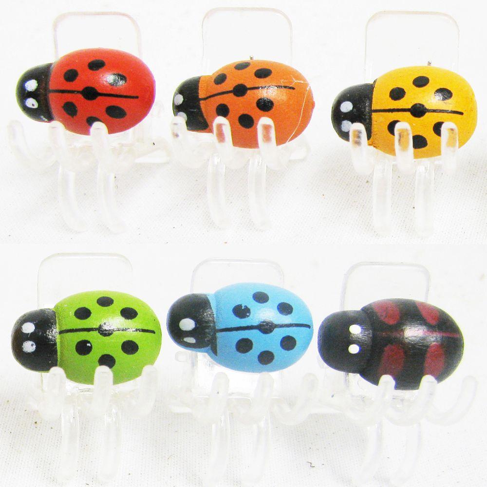 Ladybug Plant Clips (2-Pack)
