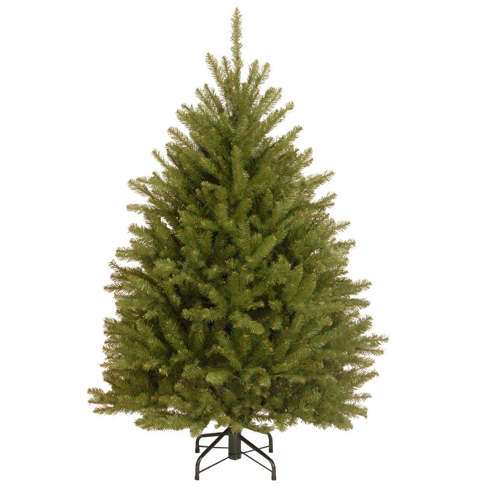 unlit christmas trees artificial christmas trees the home depot