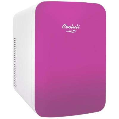 Infinity 0.53 cu. ft. Retro Mini Fridge in Pink without Freezer
