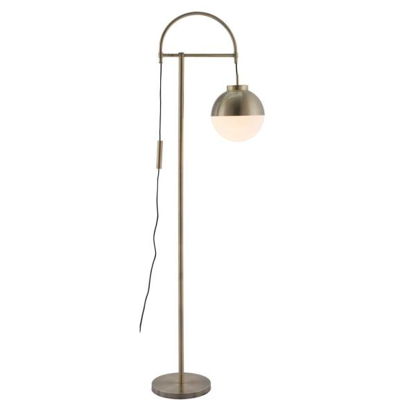 Waterloo 68.9 in. White Floor Lamp