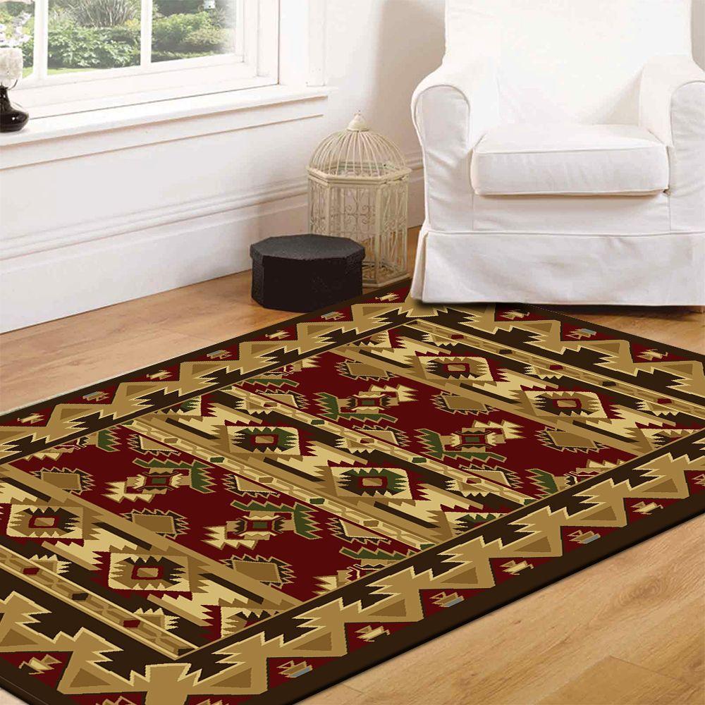 Home Dynamix Bazaar Cas HD1578 Brown 7 ft. 10 in. x 10 ft. 1 in. Area Rug