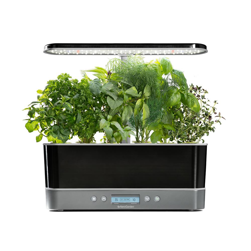 Harvest Elite Slim, Platinum With Seed Starting System Bundle
