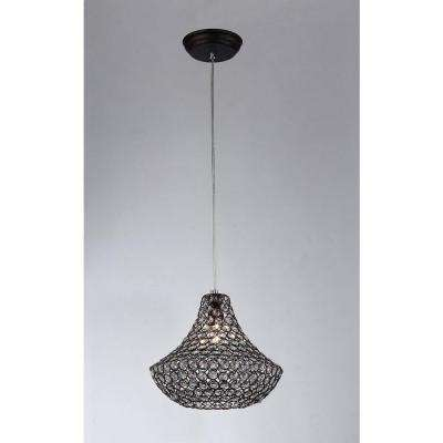 Hannah 1-Light Chrome Pendant  sc 1 st  The Home Depot & Chrome - Cage - Pendant Lights - Lighting - The Home Depot azcodes.com