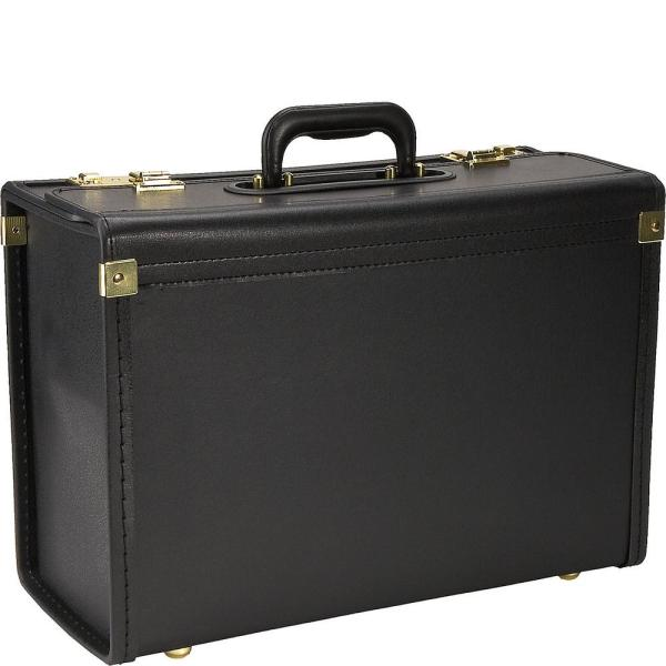 Heritage Vinyl Catalog Case/Attach Business Case with Secure Combination Lock