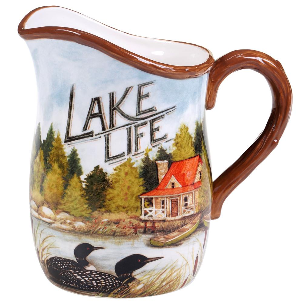 3 Qt. Lake Life Pitcher