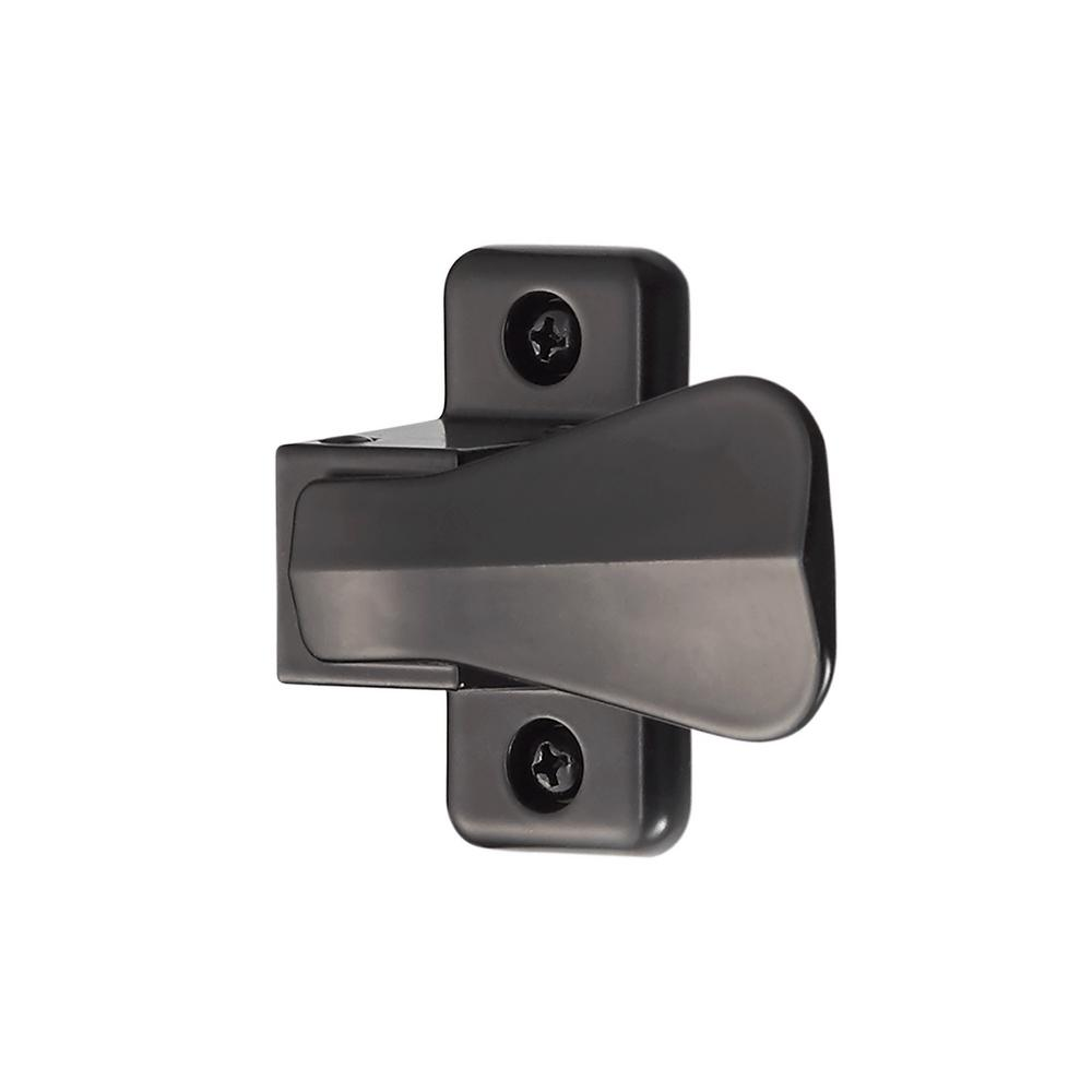 IDEAL Security Inside Latch with Strike, Black