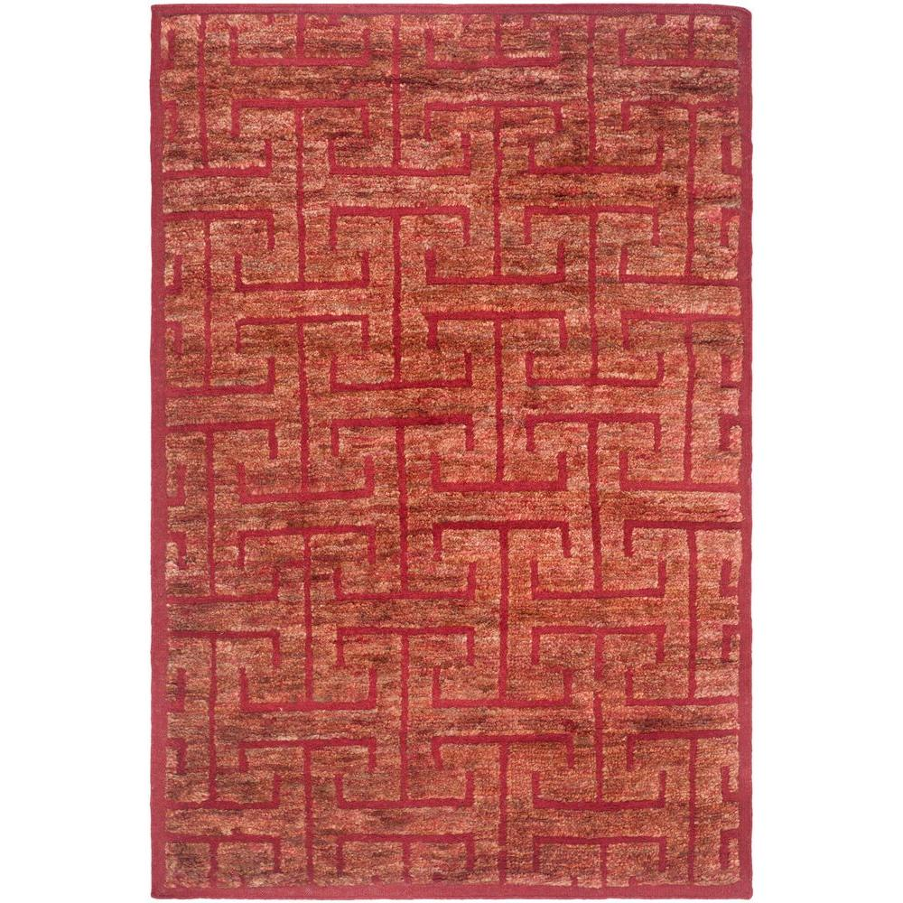 Safavieh Tangier Red/Rust 5 ft. x 8 ft. Area Rug