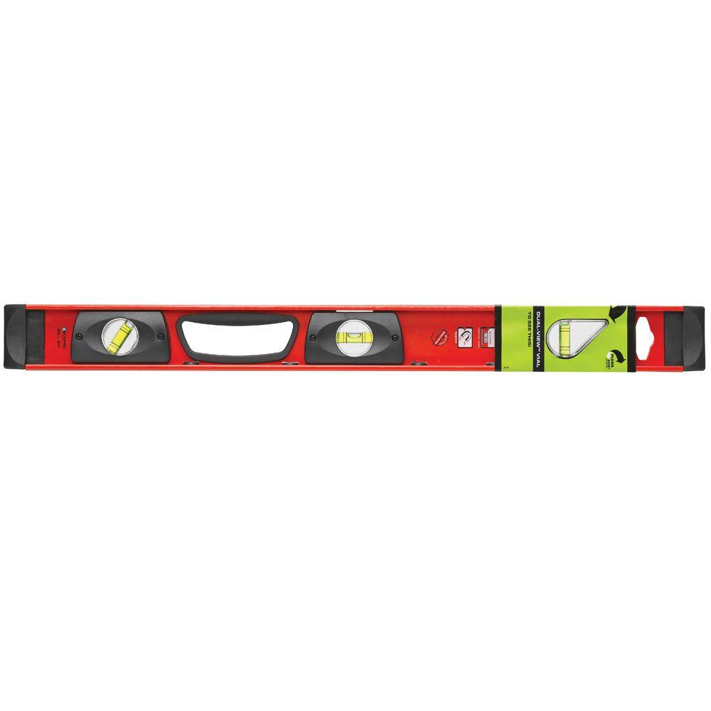 Kapro 24 in. Samson Contractor I-Beam Level with Plumb Site and 45 Degree Vial