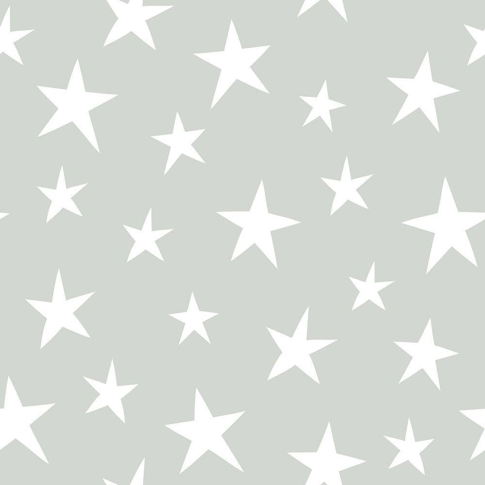 Grey Stardust Grey Wallpaper Sample