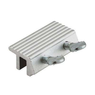 1-7/8 in., Aluminum Double Thumbscrew Sliding Door Lock