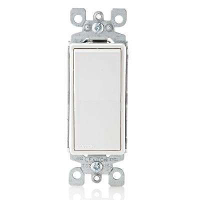 Decora 15 Amp Single Pole AC Quiet Switch, White (10-Pack)