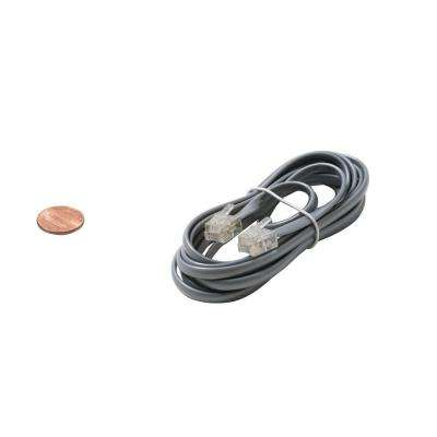 25 ft. 4C Data Modular Cable - Silver