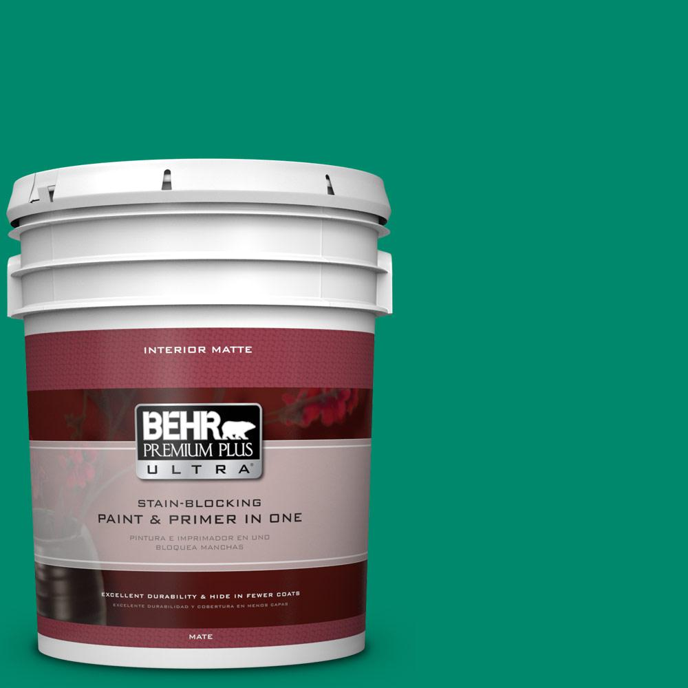 5 gal. #P430-6 Fairy Queen Matte Interior Paint