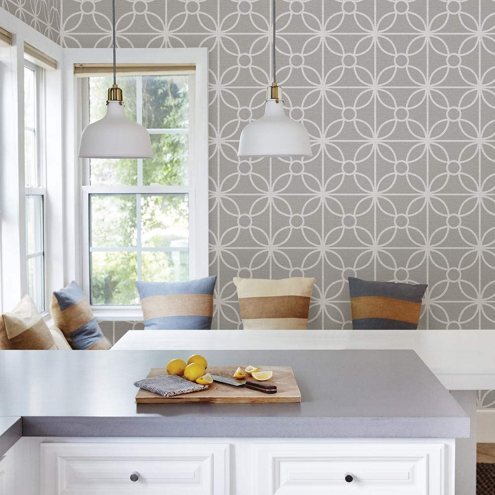 A Street Savvy Grey Geometric Wallpaper Sample 2716 23858sam The
