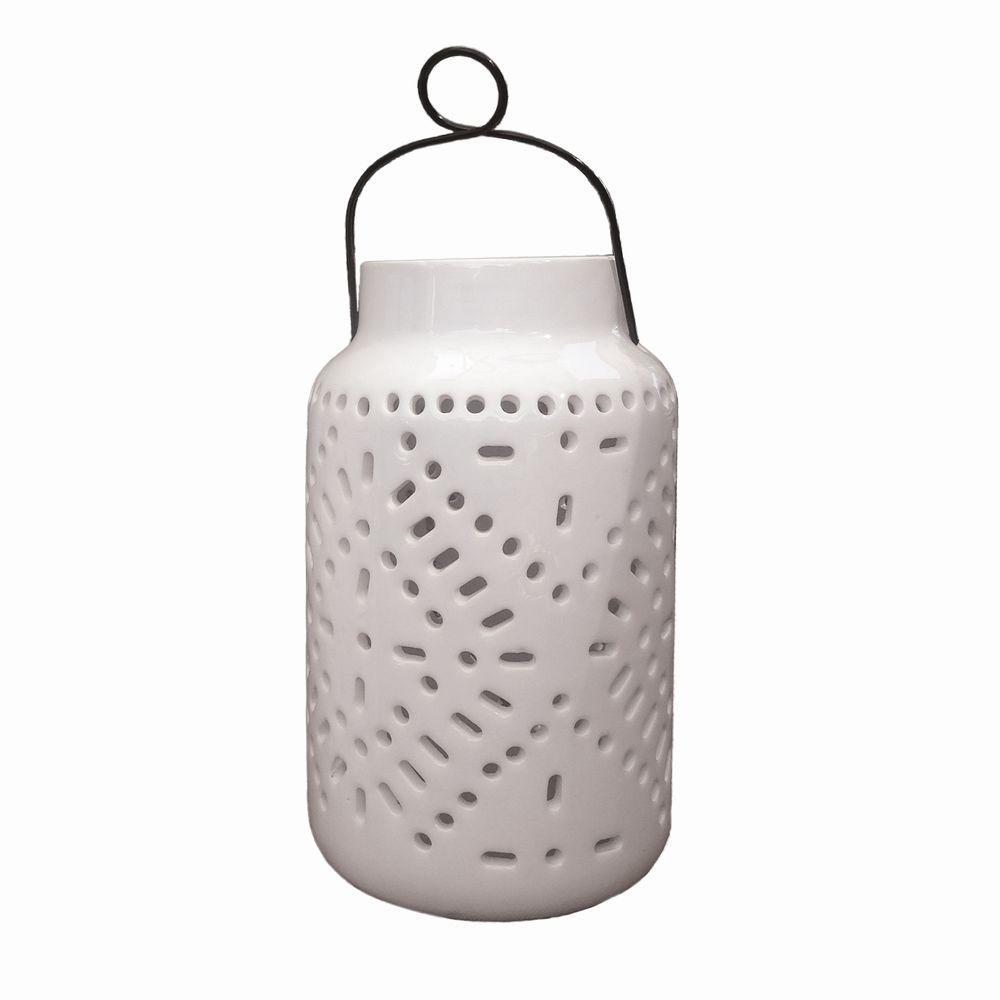 Tangiers Ceramic Solar Jar