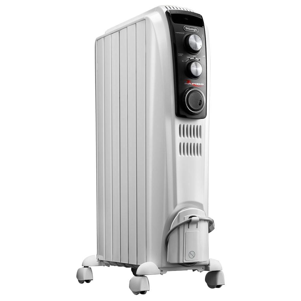 25 in. 1500-Watt High Performance Vented Radiant Electric Floor Heater with
