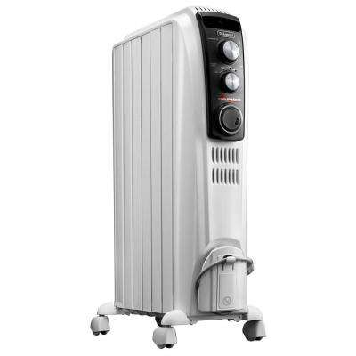 25 in. 1500-Watt High Performance Vented Radiant Electric Floor Heater with Mechanical Control