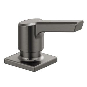 Pivotal Deck-Mount Soap and Lotion Dispenser in Black Stainless