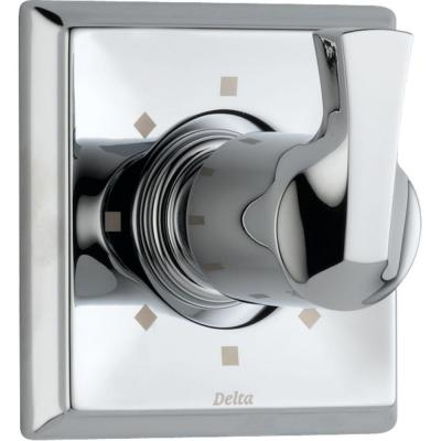 Dryden 1-Handle 6-Setting Diverter Valve Trim Kit in Chrome (Valve Not Included)