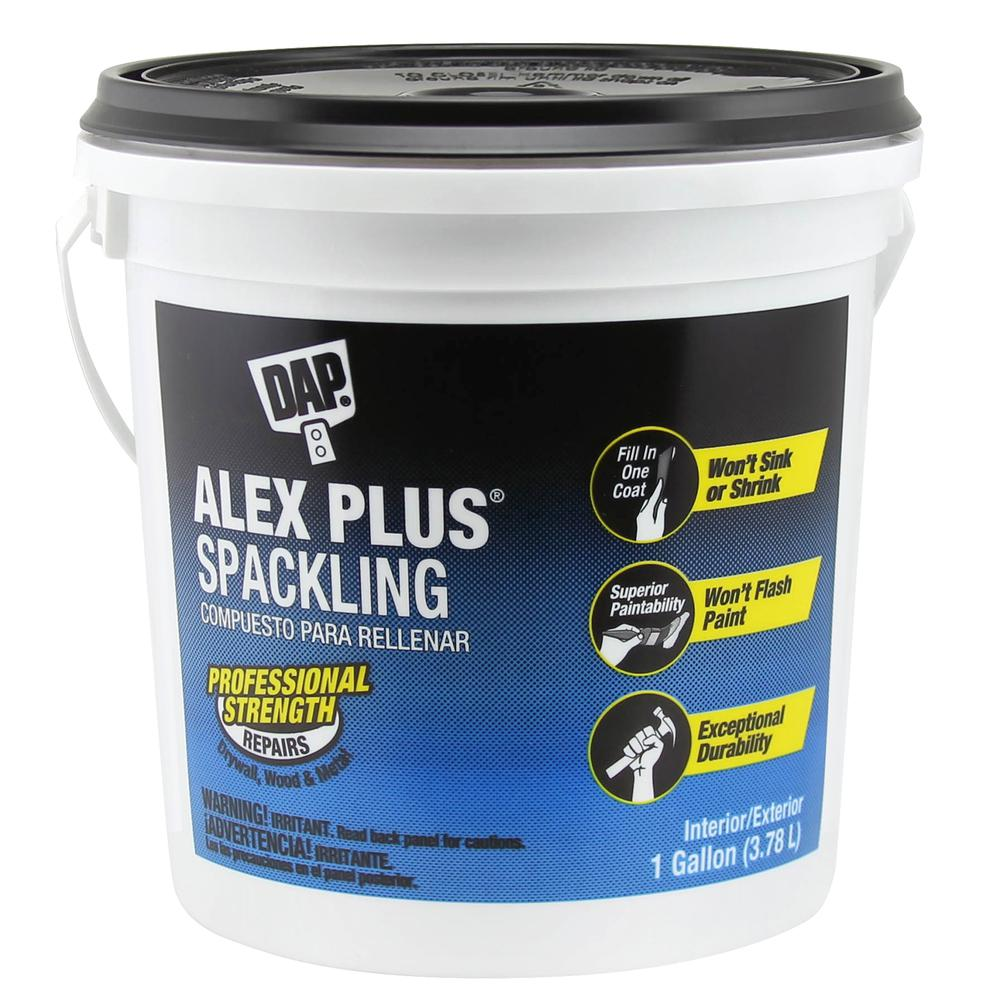 Alex Plus 128 oz. High Performance Spackling Paste (2-pack)