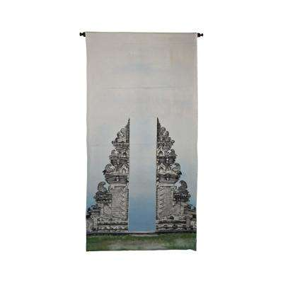 "Multicolor ""Gates of Kuta"" Wall Tapestry"