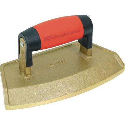 "12"" Dia 3/4 in. Lip Bronze Chamfer Tube Edger with Soft Grip Handle"