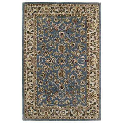 Mystic William Blue 10 ft. x 13 ft. Area Rug