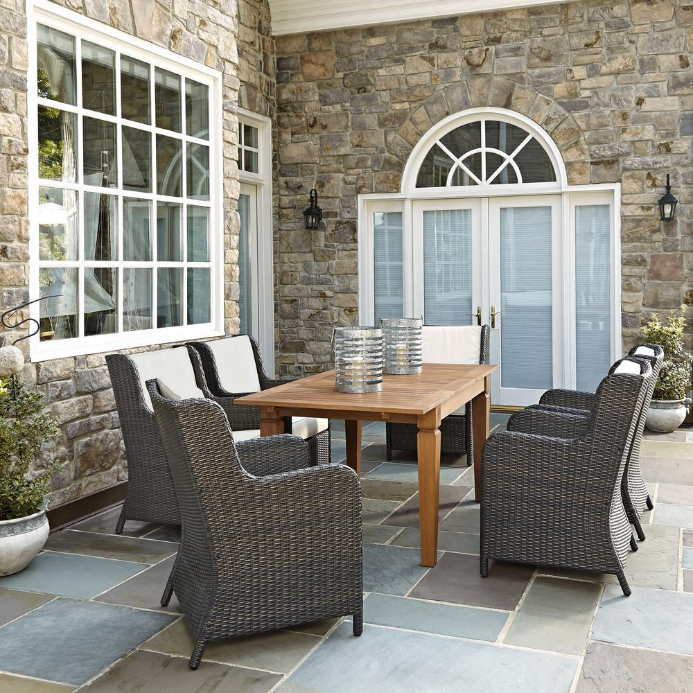 home styles bali hai 7 piece patio dining set 5660 319 the home depot