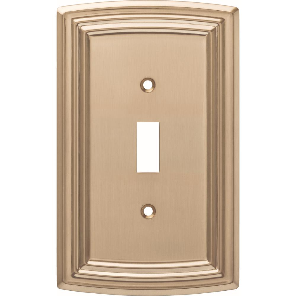 Liberty Emery Decorative Single Light Switch Cover