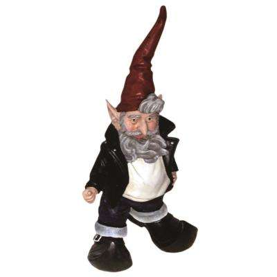 15 in. H Happy Days The Fonz 50's Gnome AAYYY Thumbs-Up in his Leather Jacket Home and Garden Gnome Statue