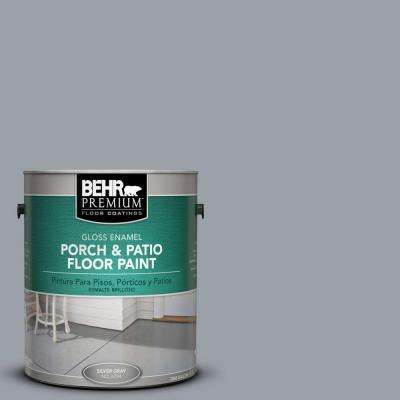 1 gal. #PFC-57 Silver Spur Gloss Porch and Patio Floor Paint