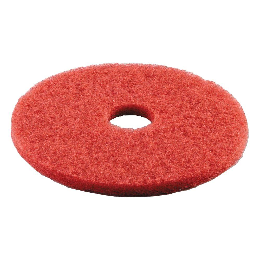 dia standard buffing red floor pad case of 5