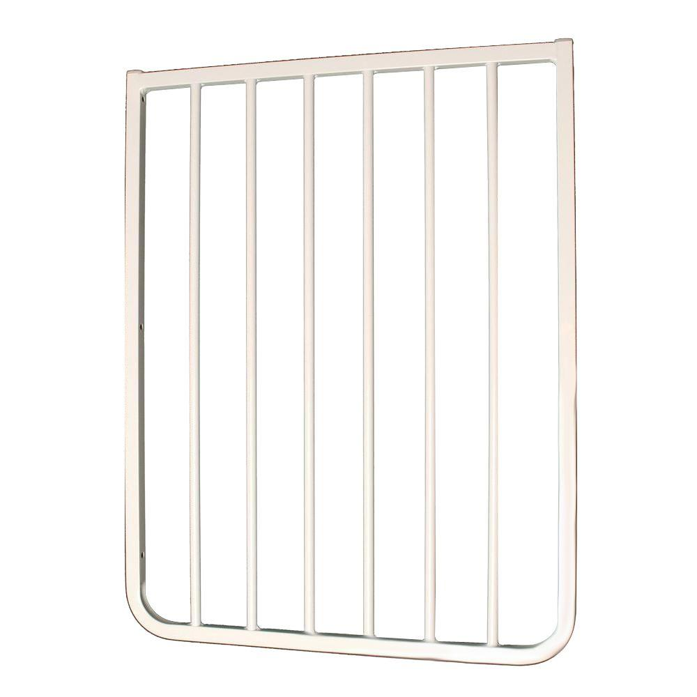 Cardinal Gates 21 3/4 In. Extension For Stairway Special Or Auto Lock Gate  In White BX2 WHP   The Home Depot