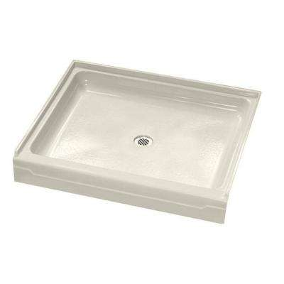 Alcove 48 in. x 32 in. Single Threshold Shower Base in Linen