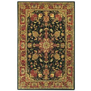 Home Decorators Collection Chamberlain Black 3 ft. 6 inch x 5 ft. 6 inch Area Rug by Home Decorators Collection