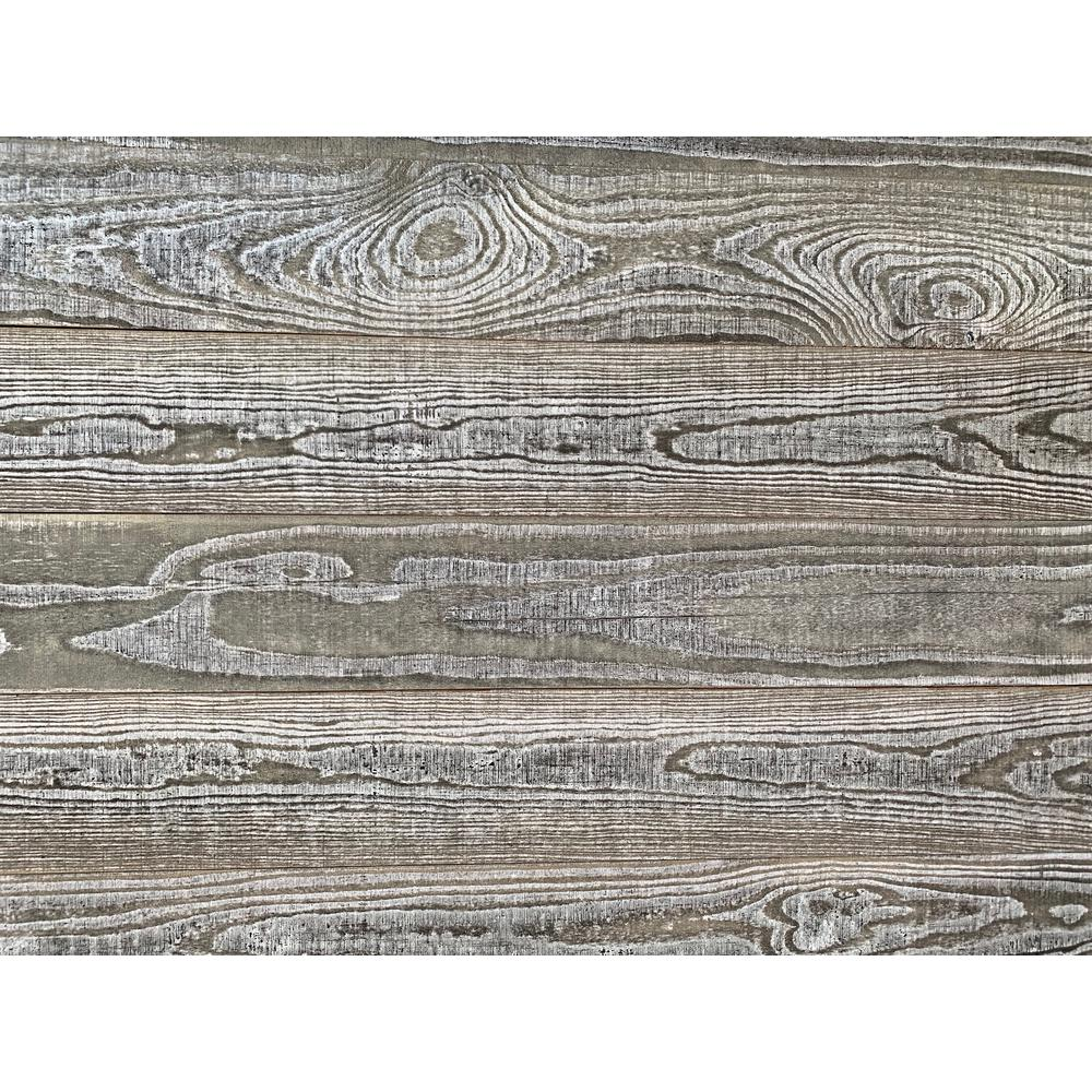 Smart Paneling 11235 Old Barn Accent Wall Wood Planks Gray 14 Piece
