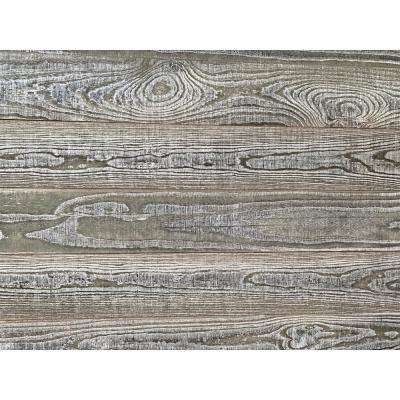 Thermo-treated 1/4 in. x 5 in. x 4 ft. Gray Barn Wood Wall Planks (10 sq. ft. per 6 Pack)