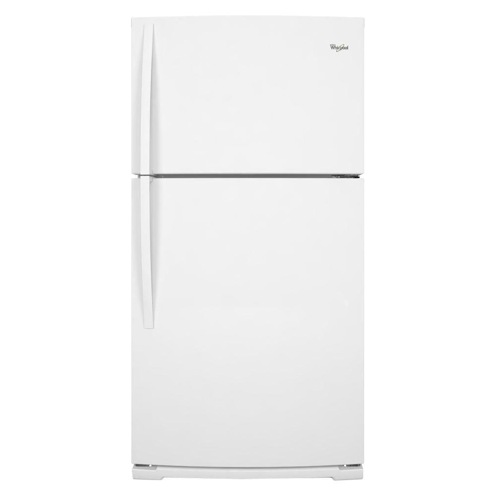 Whirlpool 18.9 cu. ft. Top Freezer Refrigerator in White