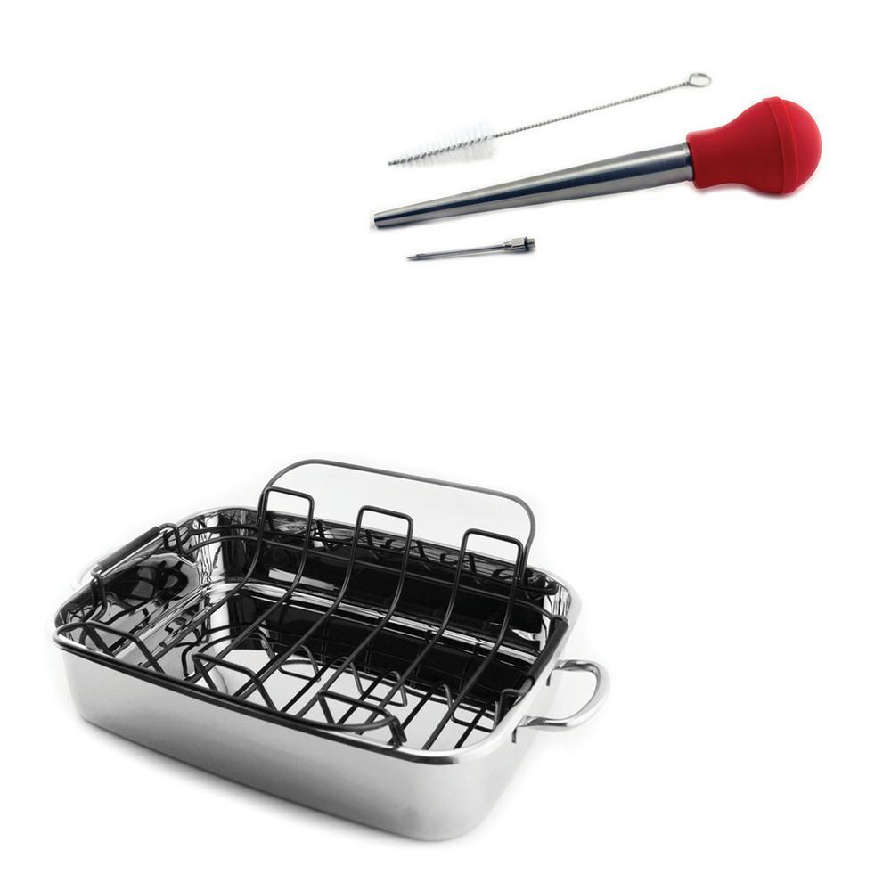BergHOFF 3-Piece Roasting Pan Set